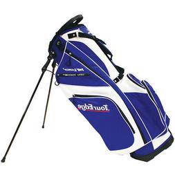 Tour Edge Golf UBAHISB08 Hot Launch 2 Stand Bags White Royal