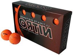 Nitro Ultimate Distance Golf Ball , Multi-Colored