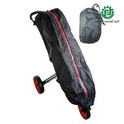 Universal Black Waterproof <font><b>Golf</b></font> Trolley