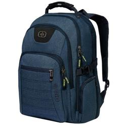 "OGIO Urban Backpack 17"" Heathered Blue w/ Laptop sleeve 1110"