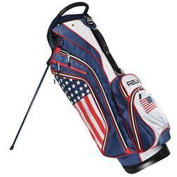 usa flag stand bag