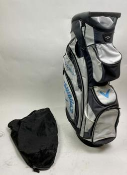 Used Callaway CHEV ORG 14 Golf Cart Carry Bag - White/Charco
