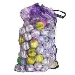 Shag Practice Golf Balls Bag with Assorted Golf Ball Brands