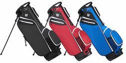 Wilson W Carry Bag Golf Stand Bag Lightweight New - Choose C