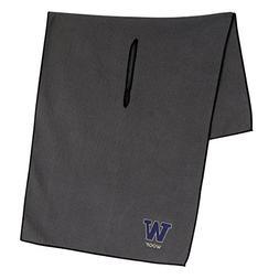 Washington Huskies Grey Microfiber Towel