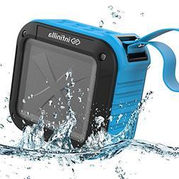 Infinilla Waterproof Bluetooth Speakers, Portable Wireless S