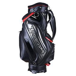 AW Waterproof Golf Carry Bag 18x10x51' 5-Way 9 Pockets For M