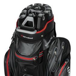 Founders Club Waterproof Premium Cart Bag 14 Way Organizer D
