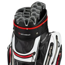 Founders Club Waterproof Premium Cart Bag 14 Way Organizer D
