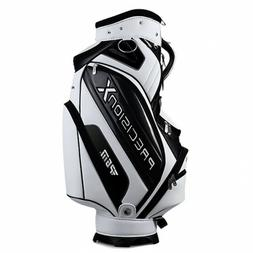 White PGM Golf Stand Bag Waterproof Multi-Pockets Durable Cl