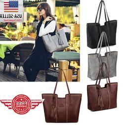women leather tote bag handbag lady purse