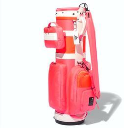 ADIDAS Women's Golf Caddie Club Bag Pink EMS Shipping GD8509