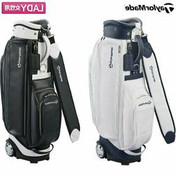 Women Taylormade Golf Tm Ky332 Casters Caddy Bag Tomorrow Mu