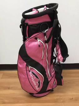 Sun Mountain Ladies 3.5 Lightweight Pink Golf Bag with Rain