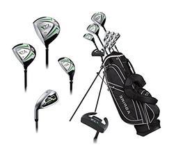 Aspire X1 Men's Complete Golf Set Includes Titanium Driver,