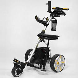 Bat-Caddy X3R Remote Control Cart w/ Free Accessory Kit, Sil