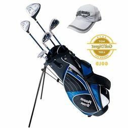 Paragon Golf Youth Golf Club Set, Blue, Ages 11-13 - Left Ha